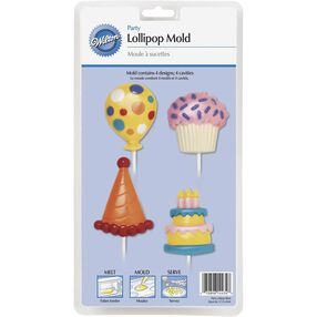 Birthday Party Lollipop Mold